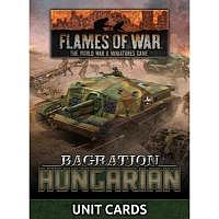 Vorbestellung - BF/FoW4: Bagration Hungarian Unit Card Pack