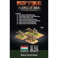 Vorbestellung - BF/FoW4: Hungarian Rifle Platoon