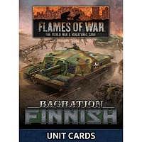 Vorbestellung - BF/FoW4: Bagration Finnish Unit Card Pack