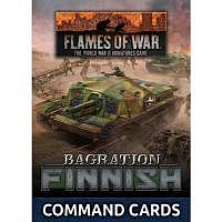 Vorbestellung - BF/FoW4: Bagration Finnish Command Card Pack
