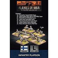 Vorbestellung - BF/FoW4: Finnish Infantry Platoon