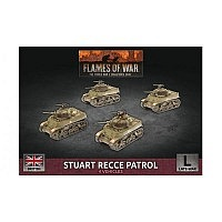 Vorbestellung - BF/FoW4: Stuart Recce Armoured Troop