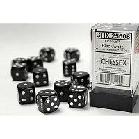 CHX: Opaque 12 Black w/white