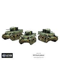 WG/BA: M5 Stuart Platoon