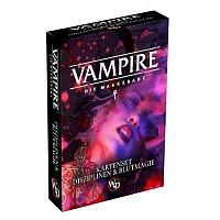 Vorbestellung - V5/RPG: V5 Vampire - Kartenset - Disziplinen & Blutmagie